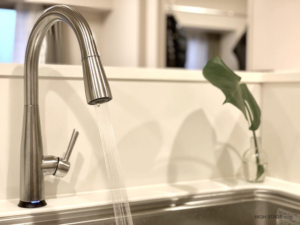 デルタ水栓(DELTA faucet)の交換工事を行いました。デルタ水栓正規輸入代理店として販売、製品保証もございます。