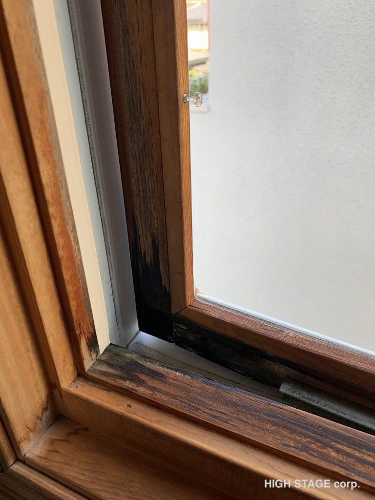 輸入住宅のメンテナンス・リフォームを行っています。ウェンコ社製のアルミクラッドサッシの木部腐食が原因で樹脂サッシに交換を行いました。