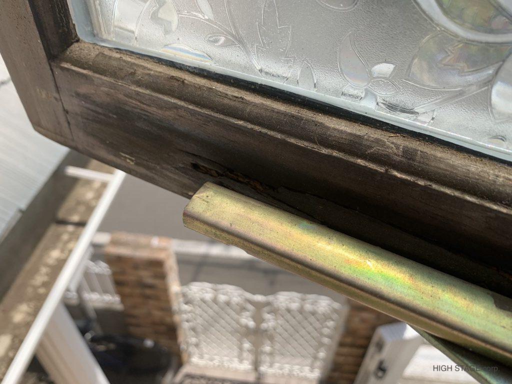 輸入木製サッシの腐食・劣化対策について紹介しています。